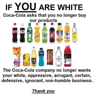 Coca Cola - Anti-White
