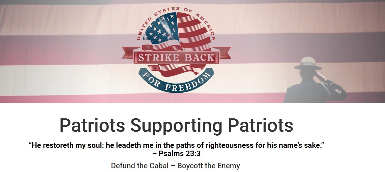 strikebackforfreedom.com